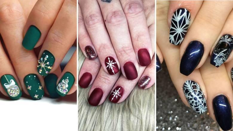 Paznokcie świąteczne 2019 - to już czas, by o nich myśleć! Jakie wzorki na paznokcie w te święta będą najlepsze? Zobacz w galerii najlepsze paznokcie