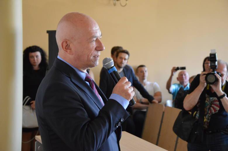 Zbigniew Ćwiąkalski na spotkaniu ze studentami Wydziału Prawa i Administracji Uniwersytetu Zielonogórskiego