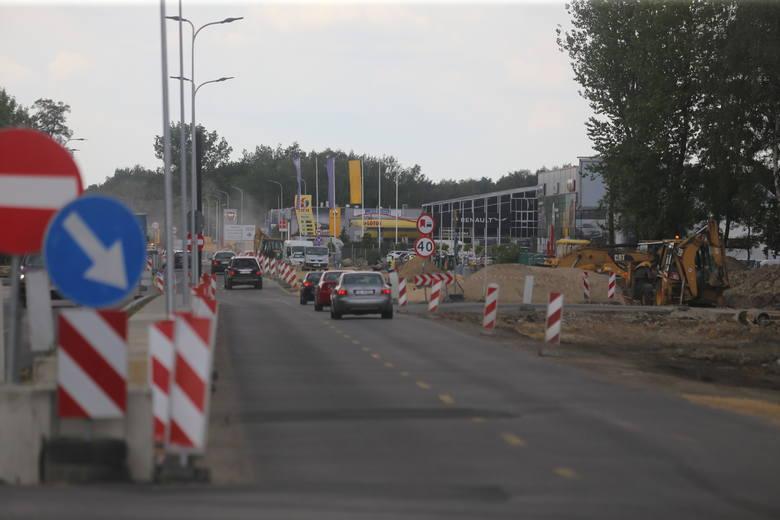 Przebudowa węzła Piotrowice na DK81 w Katowicach