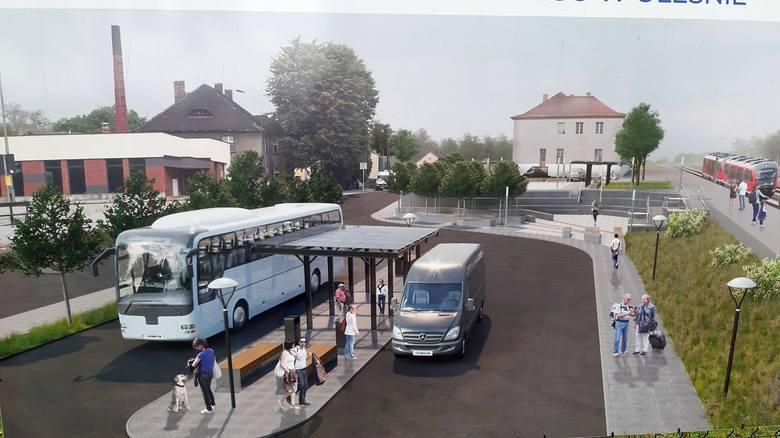 Tak będzie wyglądać centrum przesiadkowe w Oleśnie.