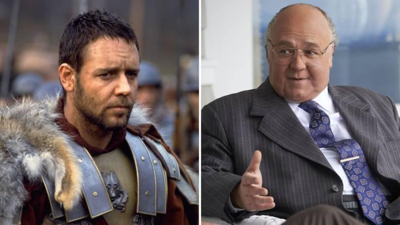Russel Crowez lewej: Gladiator (2000)do obejrzenia w: Chili, iTunes, Netflix, Amazon Prime Videoz prawej: Na cały głos (2019)do obejrzenia w: Player,