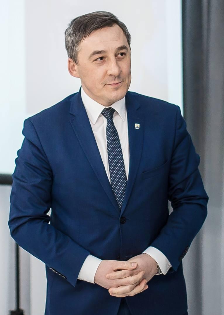 Rafał Kowalczyk - wójt gm. Wąsewo (pow. ostrowski)