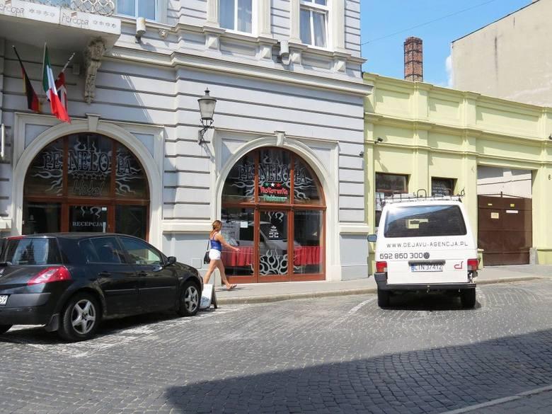 Na ulicy Solankowej również możemy w sobotę postawić auto za darmo.