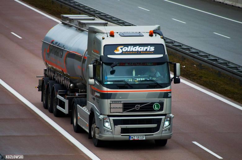 Dziś Solidaris ma prawie 700 zarejestrowanych pojazdów, co w przełożeniu na zestawy daje około 400.
