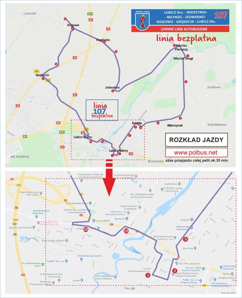 Darmowe autobusy w gminie Lubicz: o co chodzi?