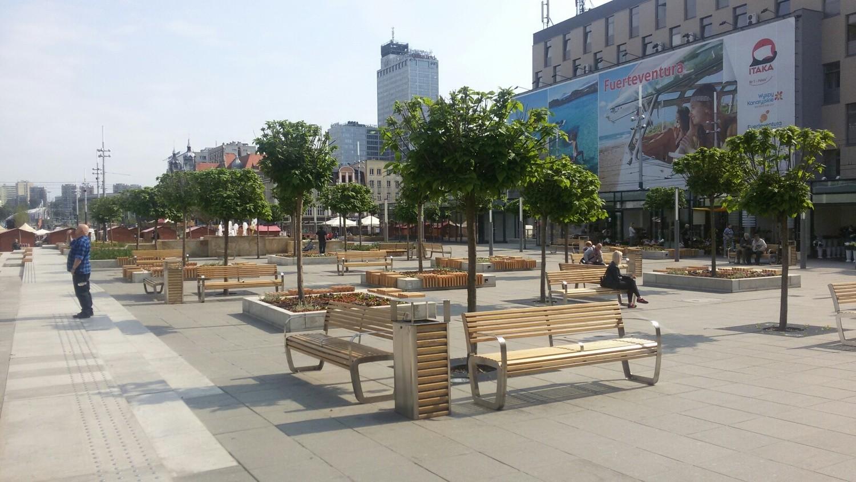 Katowice 26 czerwca otwarcie kawiarni na placu Kwiatowym ZDJĘCIA Dziennikz