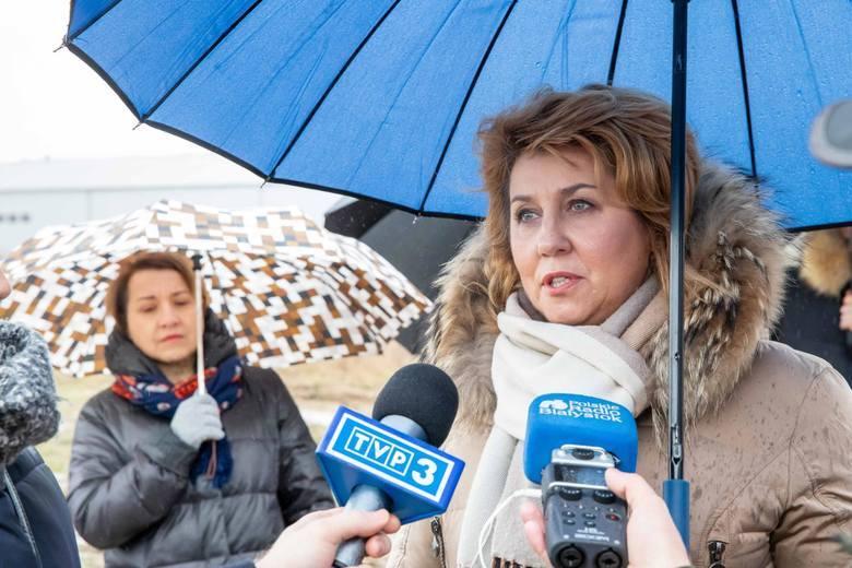 W marcu mieszkańcy wsi Porosły protestowali przeciwko budowie betoniarni