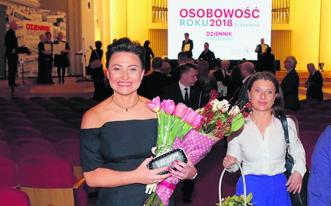 Ze sceny laureatka Katarzyna Stachowicz schodziła z uśmiechem na ustach. Nie ukrywała też swojego wzruszenia