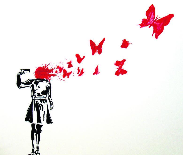 Banksy uwielbia artystyczne prowokacje. Jego graffiti są na całym świecie. Najwięcej w rodzinnym Bristolu