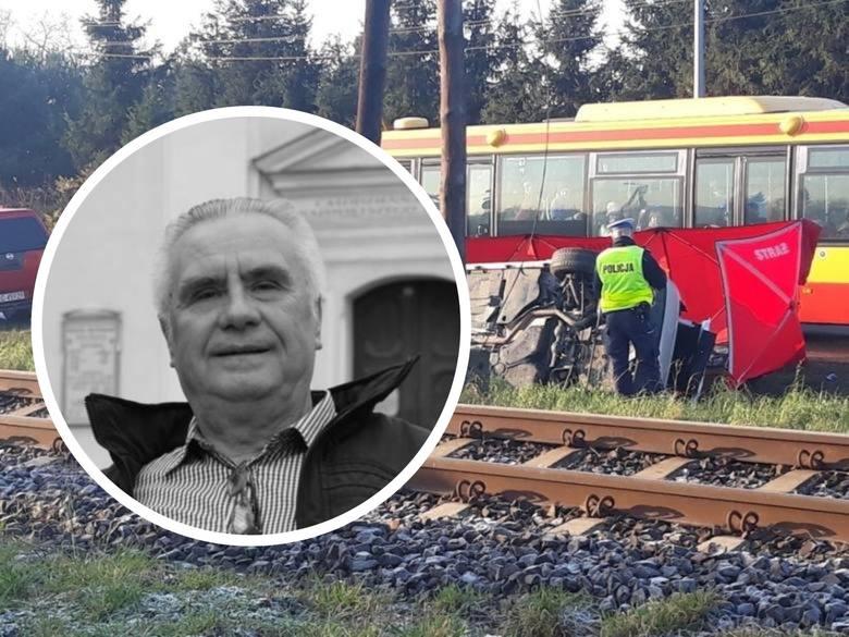 Janusz Dzięcioł zginął na przejeździe kolejowym w miejscowości Biały Bór pod Grudziądzem.