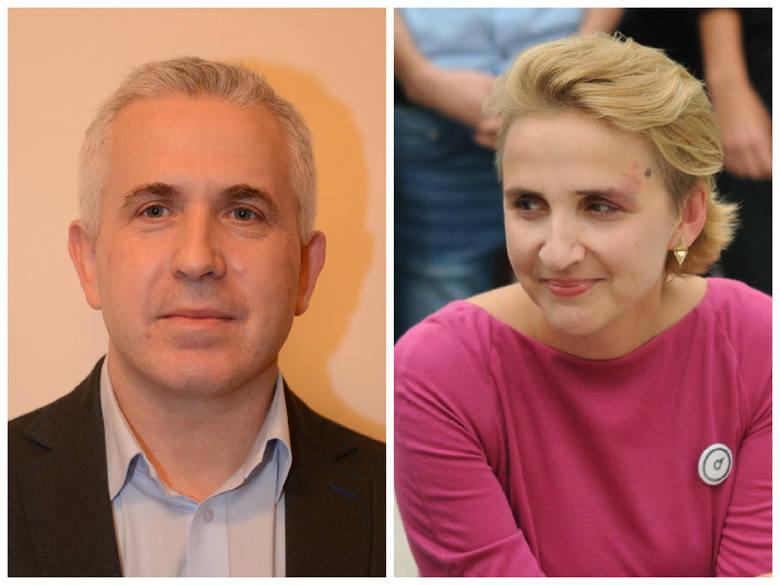 Jarosław Beszczyński i Joanna Scheuring-Wielgus mieszkają w Toruniu