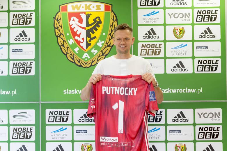 Matúš Putnocký bramkarzem Śląska Wrocław do czerwca 2022 roku