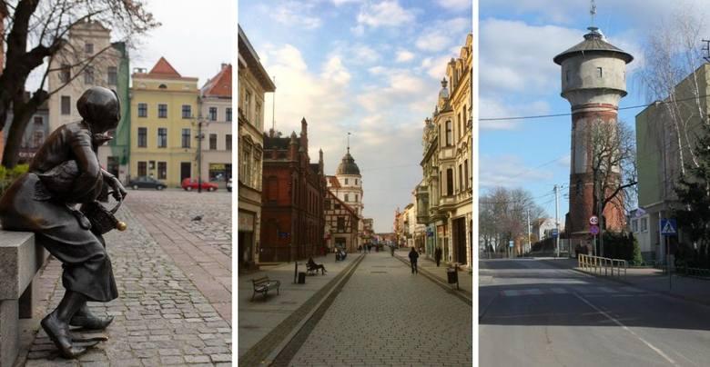 Wyludnione centra miast i miasteczek, pozamykane sklepy, ośrodki kultury i szkoły. Tak wygląda życie w województwie kujawsko-pomorskim w czasach epidemii.