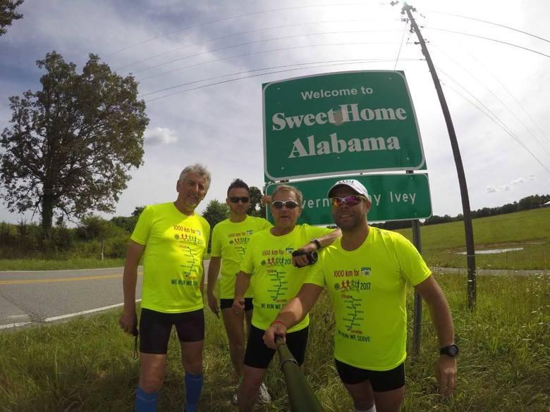Tak było rok temu podczas Freedom Charity Run na trasie z Tuscumbii do Chicago.
