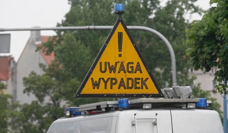 Wypadek w Grodkowie. 6 osób w szpitalu