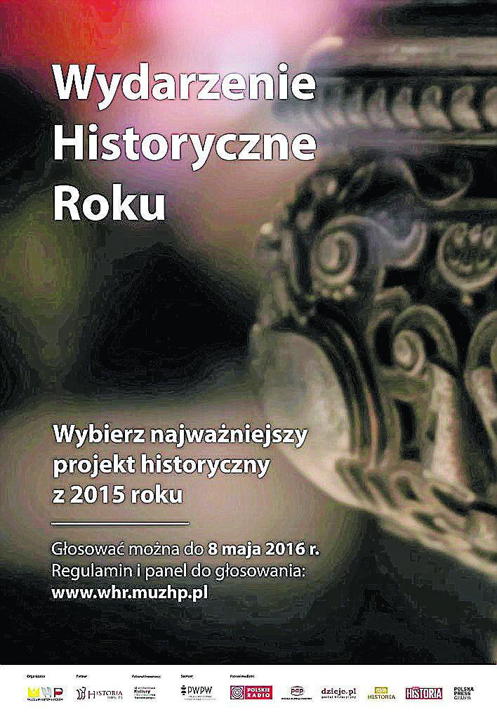 Weź udział w II etapie konkursu Wydarzenie Historyczne Roku