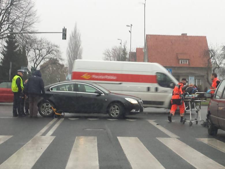 Potrącenie rowerzysty w Koszalinie