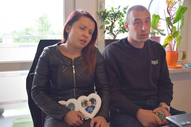 Michalina i Damian Jacyno, rodzice dziecka
