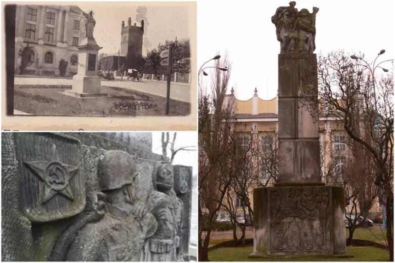 Przed budynkiem starostwa nie ma już pomnika polsko - radzieckiego braterstwa broni. Pojawiają się głosy, by na swoje przedwojenne miejsce powrócił pomnik św. Jana Niepomucena.