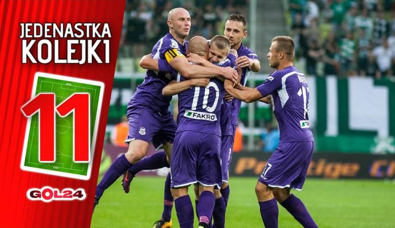 Jedenastka 6. kolejki Lotto Ekstraklasy według GOL24 [GALERIA]
