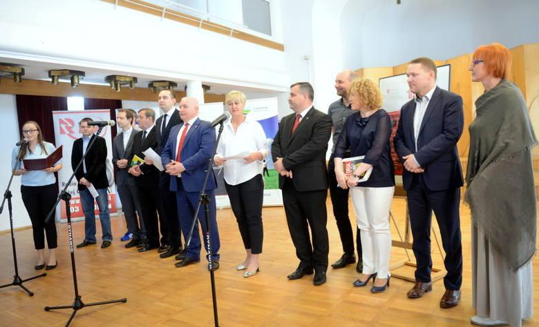 Konferencja prasowa w sprawie obchodów rocznicy Wydarzeń Zielonogórskich.