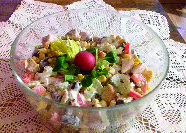 Kulinarne podróże po Wielkopolsce: Sałatka krucha (powiat wągrowiecki)