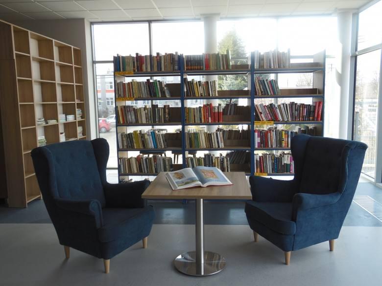 Po przeprowadzce gminna biblioteka już otwarta