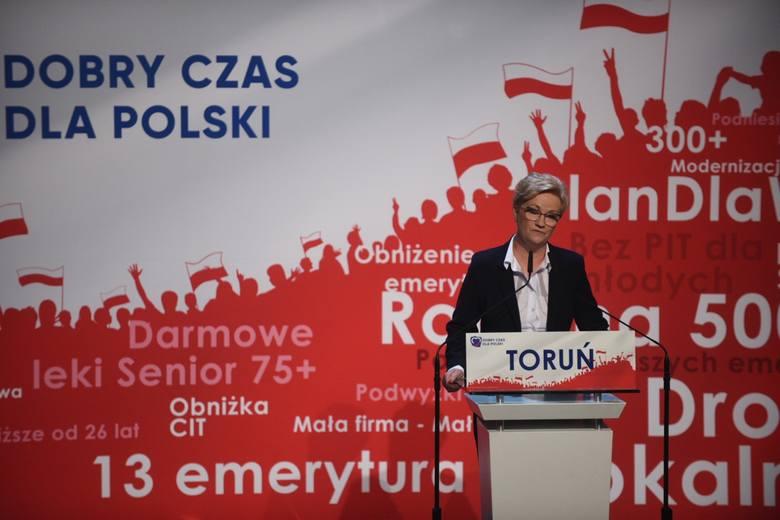 Mateusz Morawiecki na Jordankach. Co opowiadał o Toruniu?