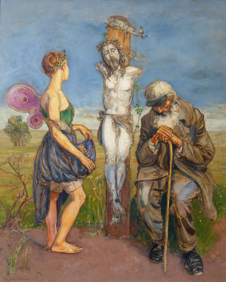 "Wlastimir Hofma, ""Boża męka"""