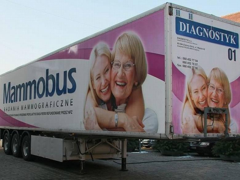 Warto skorzystać z badań w mammobusie.