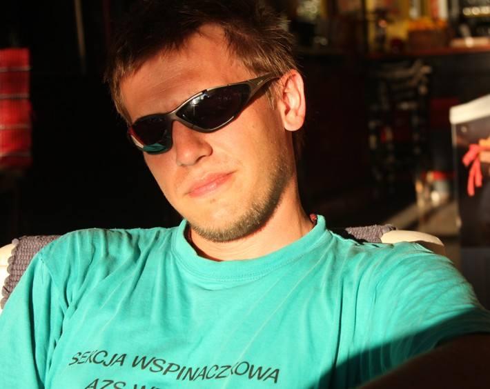 Pasją Aleksandra Pięty z Żar, wyróżnionego w konkursie Panasonic 3D Challenge są podróże.