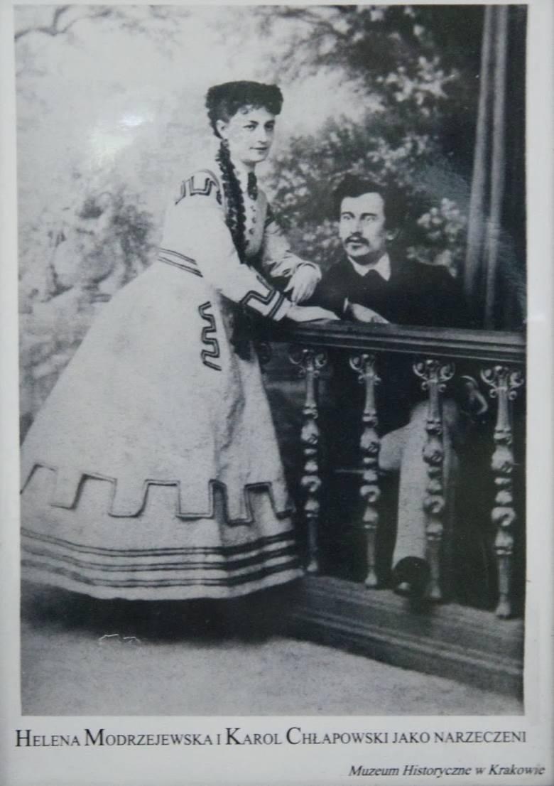 Karol i Helena, zdjęcie najprawdopodobniej wykonane w Krynicy