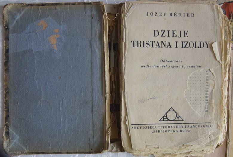 """Mocno nadgryzione zębem czasy """"Dzieje Tristana i Izlody"""".<br />"""
