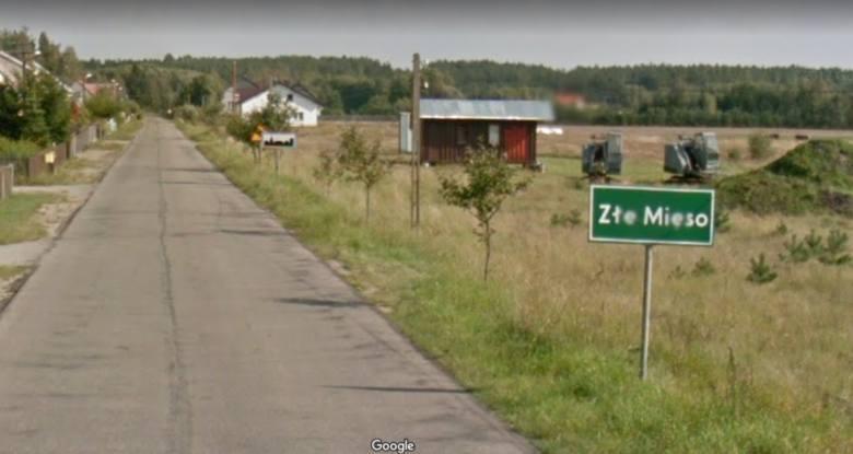 Złe mięso to wieś z pogranicza borowiacko-kaszubskiego w południowej części województwa pomorskiego, w powiecie chojnickim, w gminie Czersk nad Wdą i