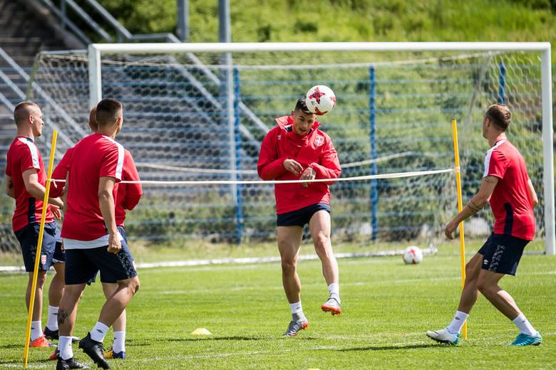 Trening reprezentacji Serbii