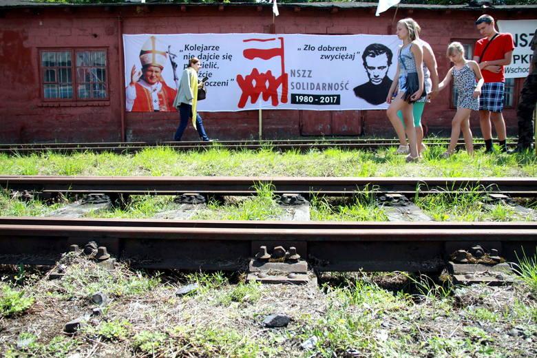 Uczcili rocznicę Lubelskiego Lipca. To z Lublina ruszyła lawina strajków (ZDJĘCIA)