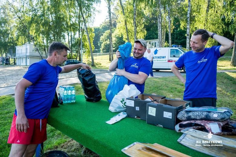 """Spływ """"Ku Bałtykowi"""" zorganizowała gmina Strzelce, żeby jednym przypomnieć, a drugim uświadomić, że z Długiego można dopłynąć kajakiem nad Bałtyk"""