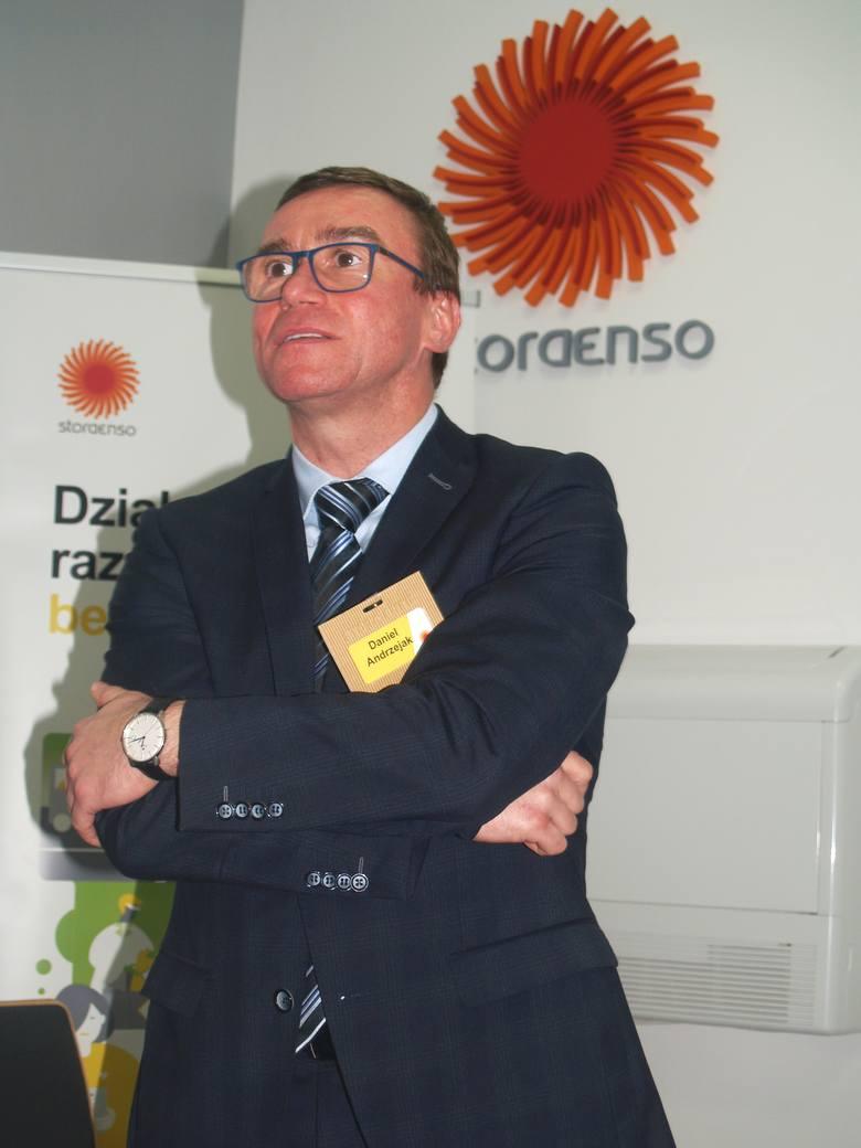 Daniel Andrzejak z zarządu SE