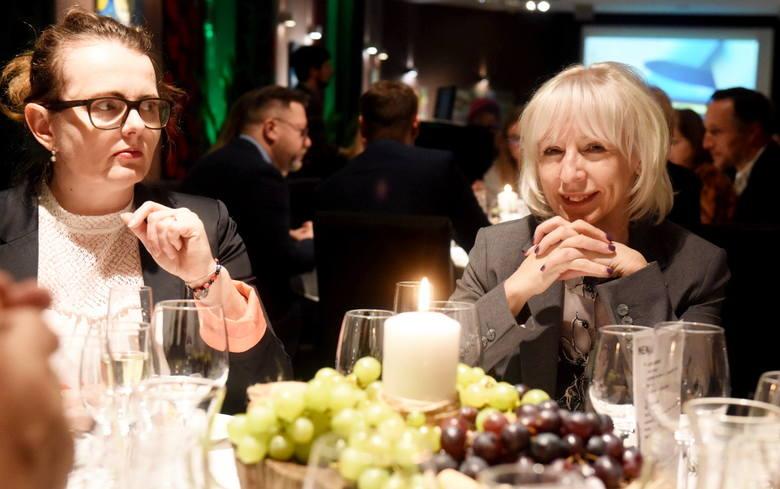 """Po premierze """"Polskiej Toskanii w kinie Cinema City, goście """"Gazety Lubuskiej"""" uczestniczyli w degustacji lubuskich win w hotelu Ruben w Zielonej Górze."""