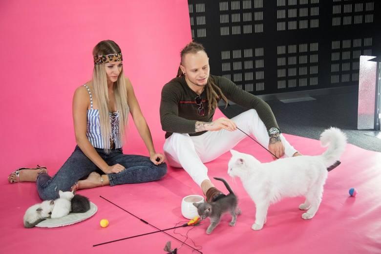 "Fit Lovers, czyli Pamela i Mateusz za kulisami programu ""MiauCzat""!"
