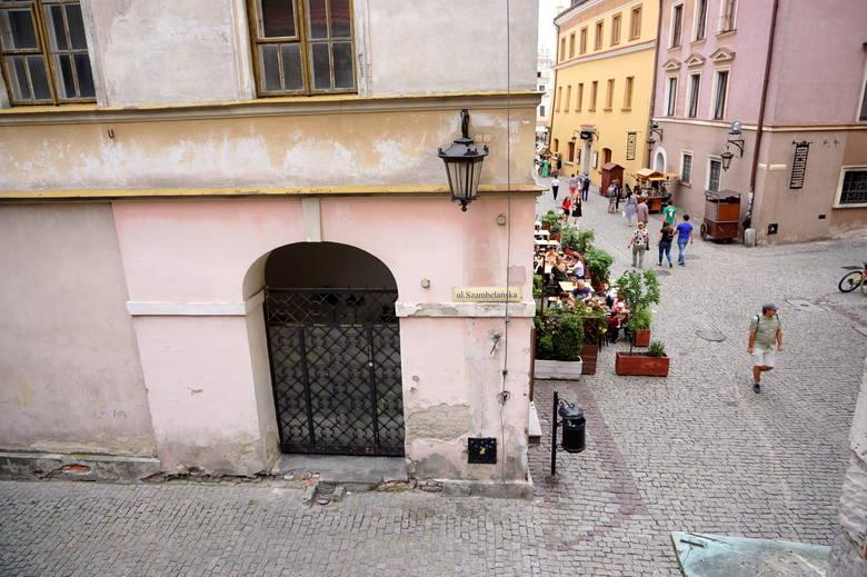 Ulica Szambelańska obecnie