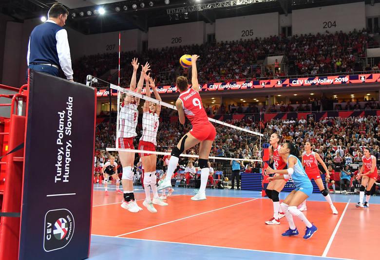 Mecz Turcja - Polska w Ankarze był, niestety, popisem drużyny gospodyń, które na niewiele pozwoliły biało-czerwonym
