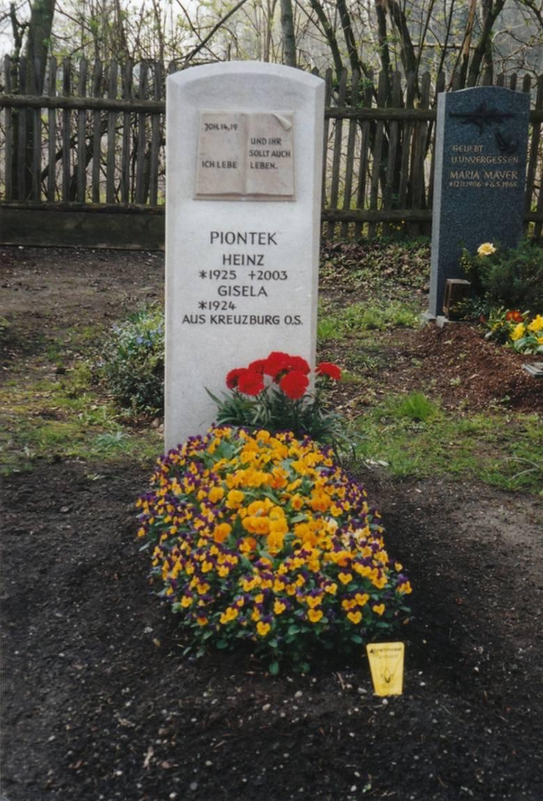 Grób Heinza Piontka.