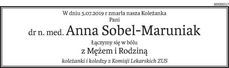 Nekrologi i kondolencje z dnia 9 lipca 2019 roku