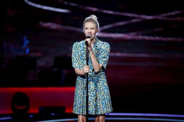 Daria Zawiałow brawurowa zaśpiewała dwie filmowe piosenki podczas przeglądu Festiwalu Piosenki i Ballady Filmowej.
