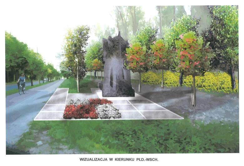 Pomnik upamiętniający ofiary tragedii z 10 kwietnia ma stanąć przy głównej arterii komunikacyjnej w Kraśniku - ul. Urzędowskiej
