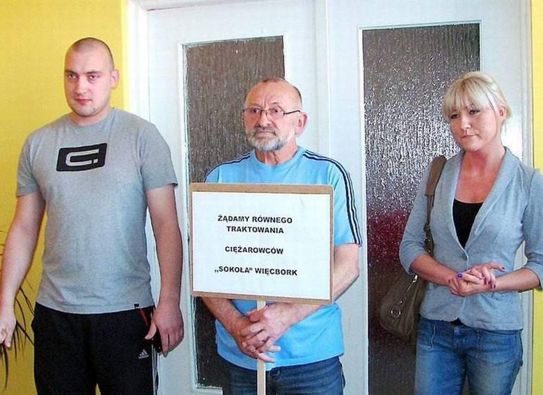 Na zdjęciu od lewej Karol Dueskau, Henryk Dueskau i Agnieszka Górecka
