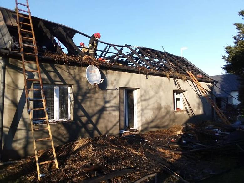 Dramat rodziny z Wierzchosławic. Stracili dobytek i dach nad głową, walczą z chorobą. A wokół jeszcze epidemia [ZDJĘCIA]