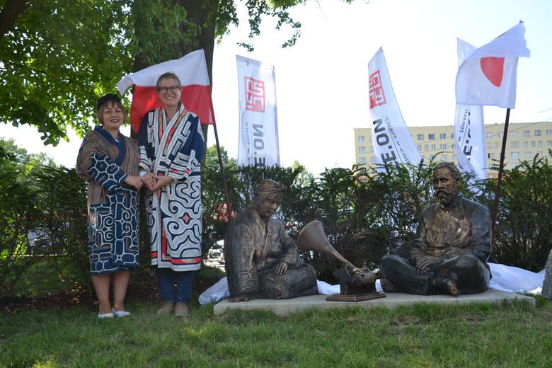 Posąg Bronisława Piłsudskiego odsłonięty w Żorach. Czym wsławił się brat Józefa? ZDJĘCIA