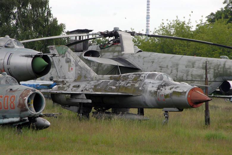 Kolekcja samolotów Jerzego Lewandowskiego.